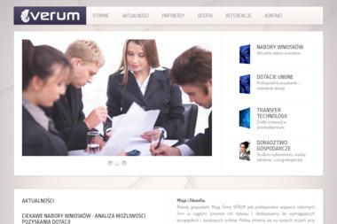 VERUM - Firma konsultingowa Rzeszów
