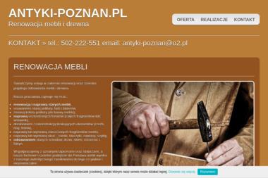 ANTYKI-POZNAN.PL - Renowacja Mebli Poznań