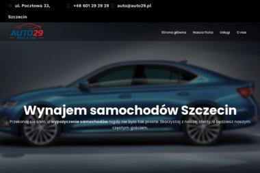 Auto29 - Wypożyczalnia samochodów - Wypożyczalnia samochodów Szczecin