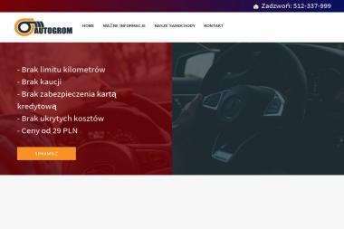 Autogrom - Wypożyczalnia samochodów Gdynia