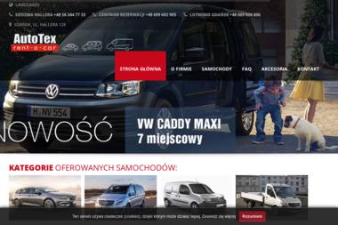 AUTO TEX VIP SERVICE - Wypożyczalnia Aut Gdańsk