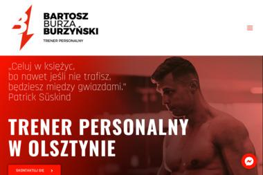 Bartosz Burza Burzyński - Trener personalny Olsztyn