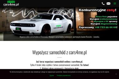 Wypożyczalnia samochodów i busów cars4me.pl - Wypożyczalnia Aut Rzeszów