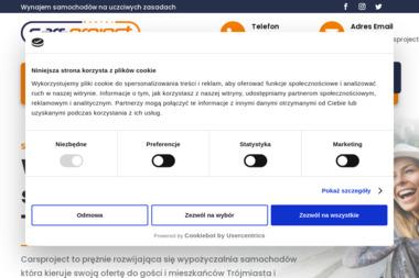 Cars Project - Wypożyczalnia samochodów Gdynia