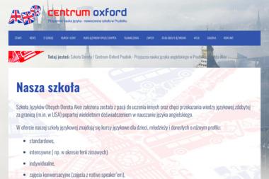 Centrum Oxford - Nauczyciele angielskiego Prudnik