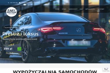 Easy Motion - Wypożyczalnia Samochodów Poznań
