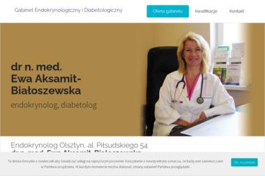 Specjalistyczny Gabinet Lekarski dr nauk medycznych Ewa Aksamit-Białoszewska - Diabetolog Olsztyn