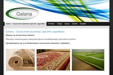 """PPHU  """"GALANA"""" - Pranie Tapicerki Tarnów"""