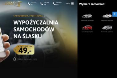 Gold Cars - Wypożyczalnia samochodów Zabrze