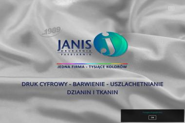 JANIS - Uszlachetnianie materiałów Łódź