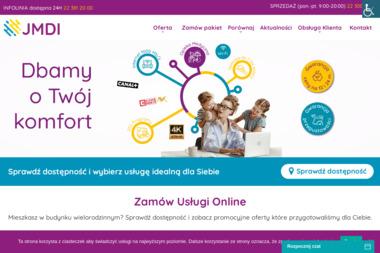 JMDI - Dostawcy internetu, usługi telekomunikacyjne Warszawa