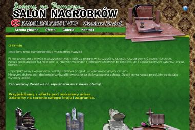 Kamieniarstwo Czesław Rosiak - Nagrobki Szczecin