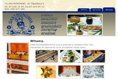 Gastronomia Michał Syryca - Catering świąteczny Suwałki