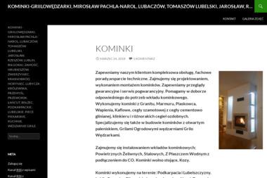KOMINKI Mirosław Pachla - Kominki Narol