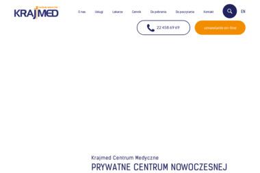 Krajmed Centrum Nowoczesnej Laryngologii - Alergolog Warszawa