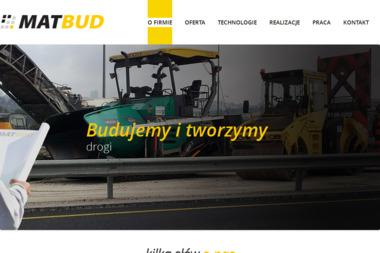 MATBUD - Budowa Dróg Rzeszów