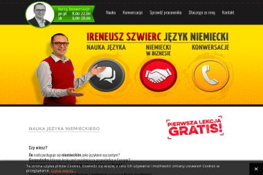 Ireneusz Szwierc Język Niemiecki - Kurs niemieckiego Zabrze
