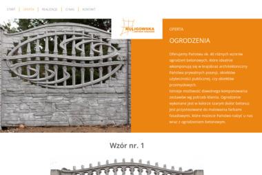 Kuligowska Centrum Ogrodzeń - Ogrodzenia Betonowe Łomża