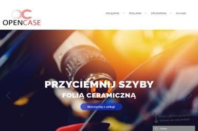 OpenCase - Przyciemnianie szyb Poznań