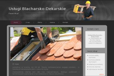 Usługi Blacharsko-Dekarskie - Dekarz Gdynia