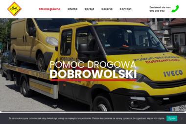Pomoc Drogowa DOBROWOLSKI - Wypożyczalnia samochodów Łomża
