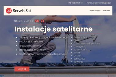 Serwis Sat - Montaż anten Cieszyn