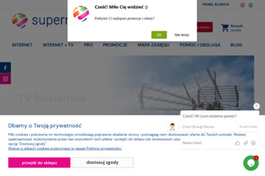 Supermedia - Dostawcy internetu, usługi telekomunikacyjne Warszawa