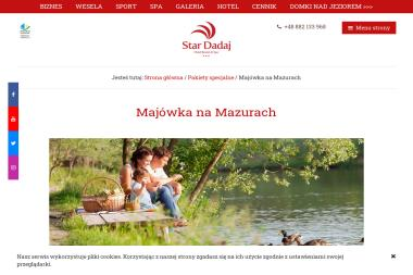 Hotel Star-Dadaj Resort & SPA - Hotel SPA Barczewo