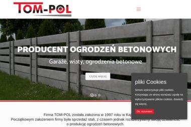 TOM-POL - Elementy Ogrodzeniowe Betonowe Przedbórz