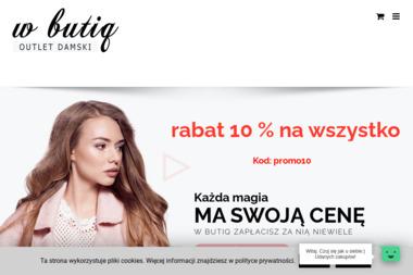Tomasz Borowski W Butiq - Dostawcy odzieży i obuwia Wrocław