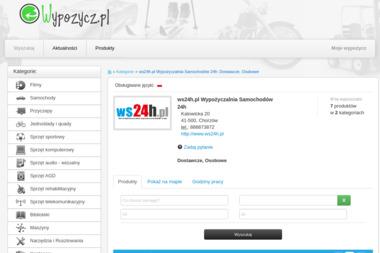 ws24h.pl Wypożyczalnia Samochodów 24h - Wypożyczalnia samochodów Chorzów