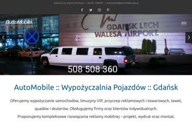 Auto Mobile - Wypożyczalnia Samochodów Gdańsk