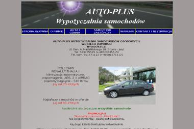 AUTO-PLUS - Wypożyczalnia samochodów Bydgoszcz