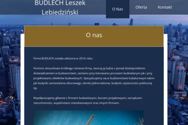 Budlech Leszek Lebiedziński - Projektant instalacji elektrycznych Warszawa