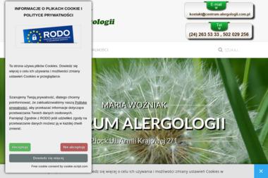 CENTRUM ALERGOLOGII - Alergolog Płock