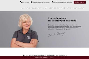 Danuta Borczyk Stomatologia - Usługi Stomatologiczne Katowice
