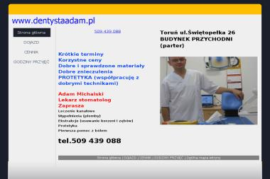 Dentysta Adam - Protetyk Toruń