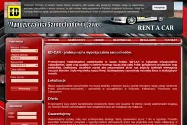 ED-CAR - Wypożyczalnia samochodów Nowy Sącz