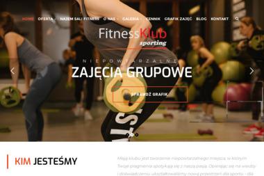 Fitness Klub Sporting - Trener personalny Leszno