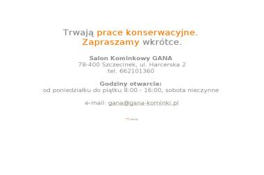 Salon Kominkowy GANA - Kominki z Płaszczem Wodnym Szczecinek