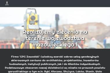 GPG Zawadzki - geodeta - Geodezja Miastków Kościelny