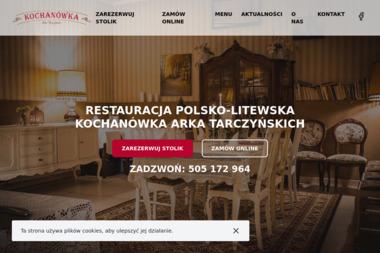 Kochanówka - Gastronomia Siedlce
