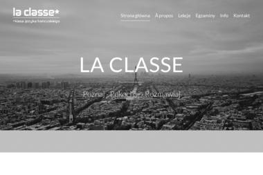 Szkoła języka francuskiego La classe - Szkoła językowa Białystok