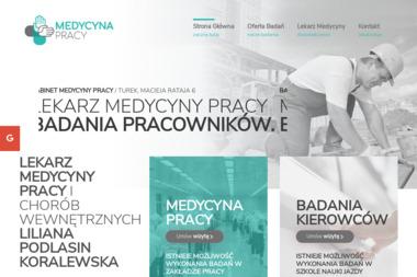 GABINET MEDYCYNY PRACY - Medycyna pracy Turek