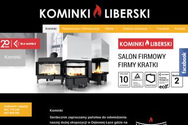 Zakład produkcji Kominków Lech Liberski - Kominki z Płaszczem Wodnym Wschowa