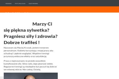 Maciej Krysiak - Trener personalny Łódź