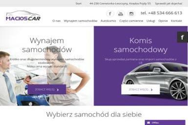 MACIOS CAR - Wypożyczalnia samochodów Czerwionka-Leszczyny