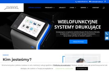 Madax Plus Sp. z o.o. Elit Partner Konica Minolta - Plotery nowe Warszawa