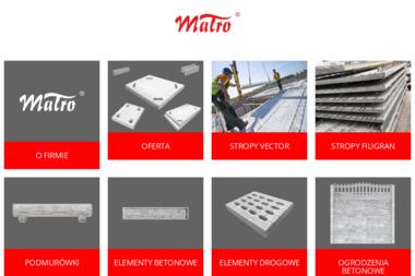 MAŁRO - Ogrodzenia betonowe Sośnicowice