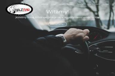 MazFor - Wypożyczalnia Aut Kielce